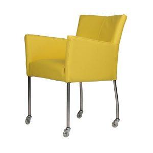 tafelsenstoele.nl - Costa armstoel met wiel