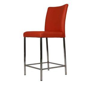 tafelsenstoelen.nl - luca barkruk + rug 75cm hoog