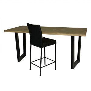 tafelsenstoelen.nl - Boomstam bartafel